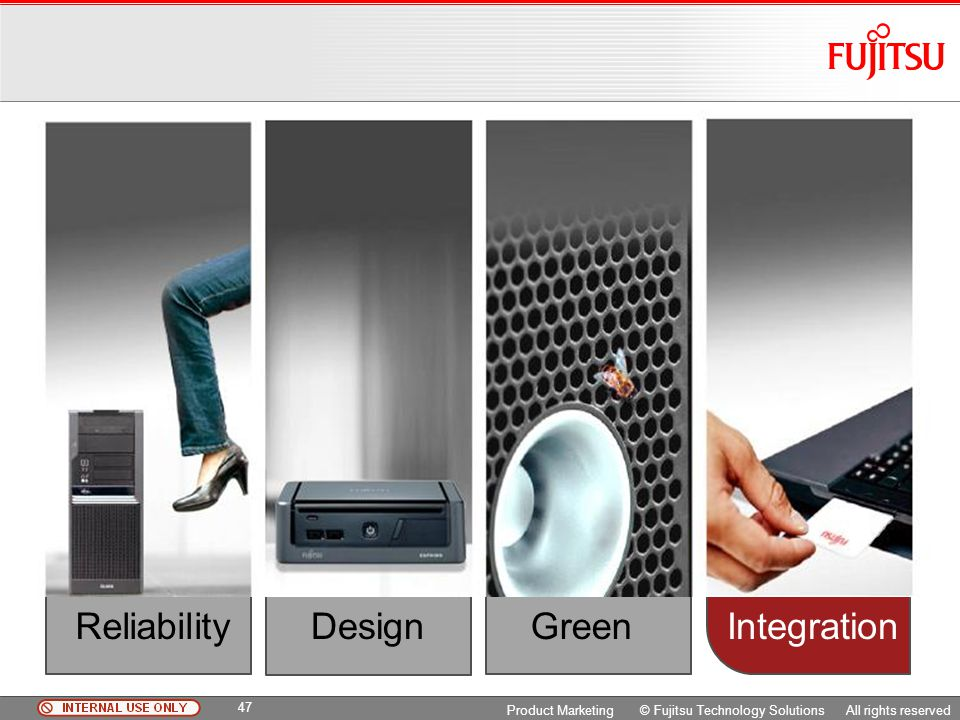 Reliability Design Integration Green Copyright 2009 Fujitsu FTS