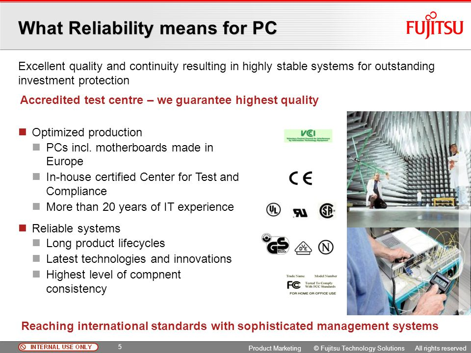 What Reliability means for PC