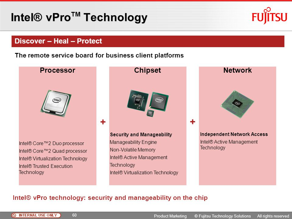 Intel® vProTM Technology