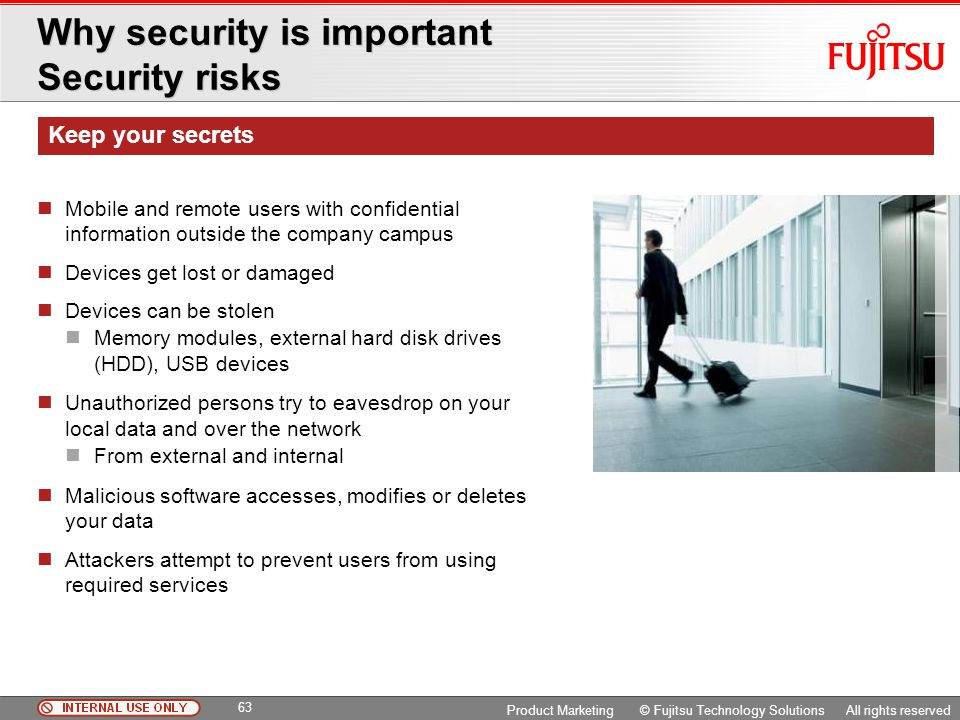 Why security is important Security risks