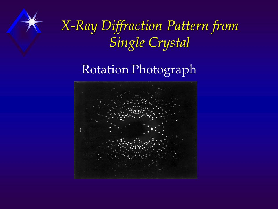 single crystal x ray diffraction pdf