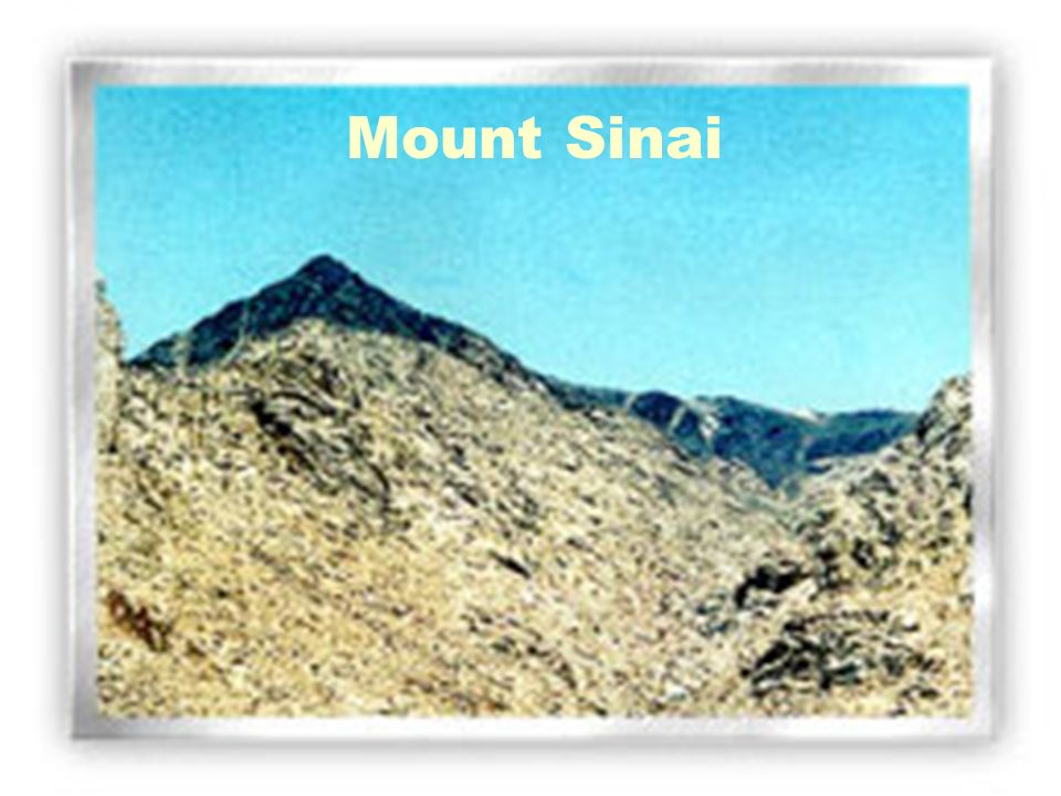 Mount SinaiMount Sinai.