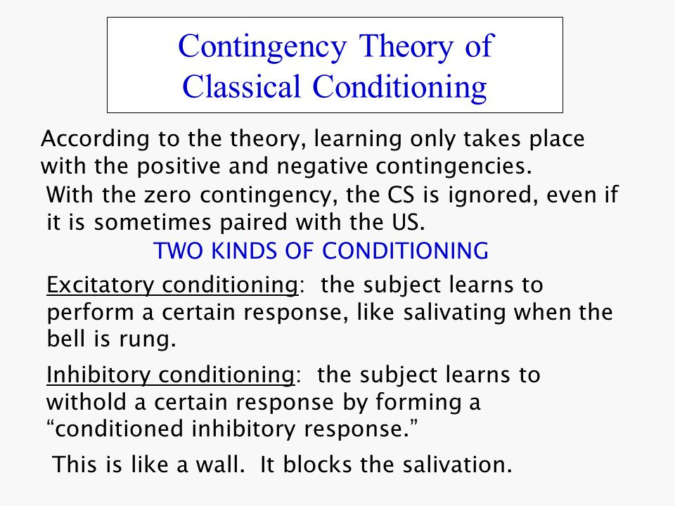contingency theory Maybe leadership isn't about who you are, what skills you have, or how you act maybe what defines effective leadership is about more than just you this inquisitive contemplation brought forth the idea of contingency theory, and moved the field of leadership theory forward by another drastic step.