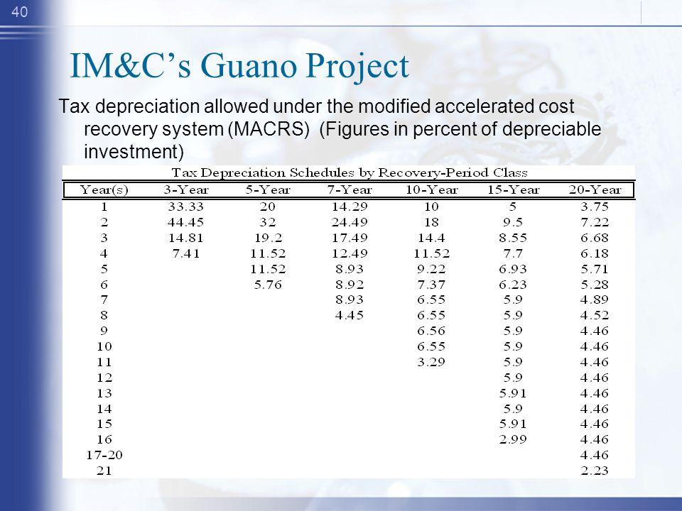 IM&C's Guano Project