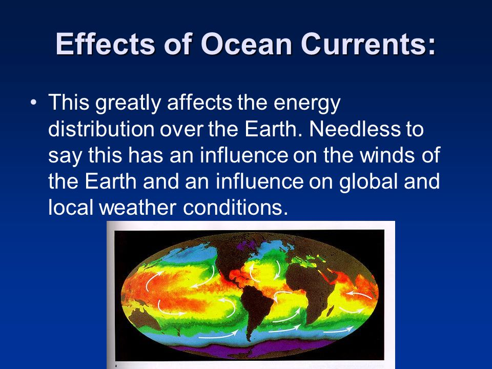 Effects of Ocean Currents: