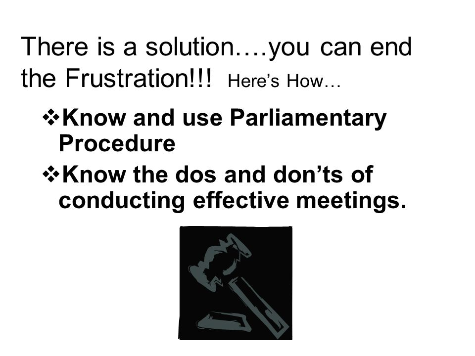 There is a solution….you can end the Frustration!!! Here's How…