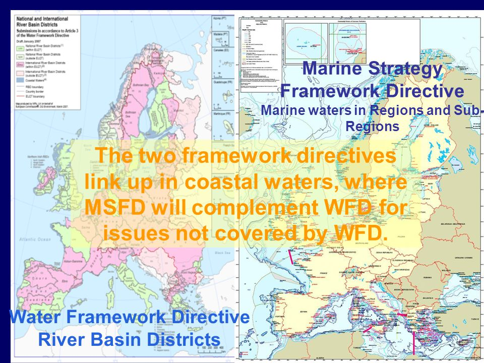 Water Framework Directive River Basin Districts