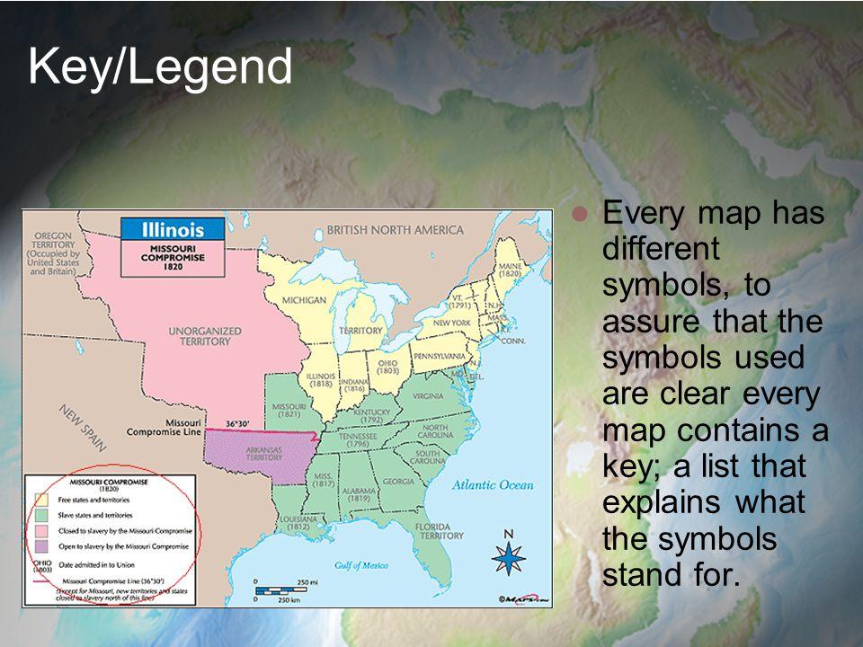 Unit 3 understanding maps ppt video online download keylegend gumiabroncs Images