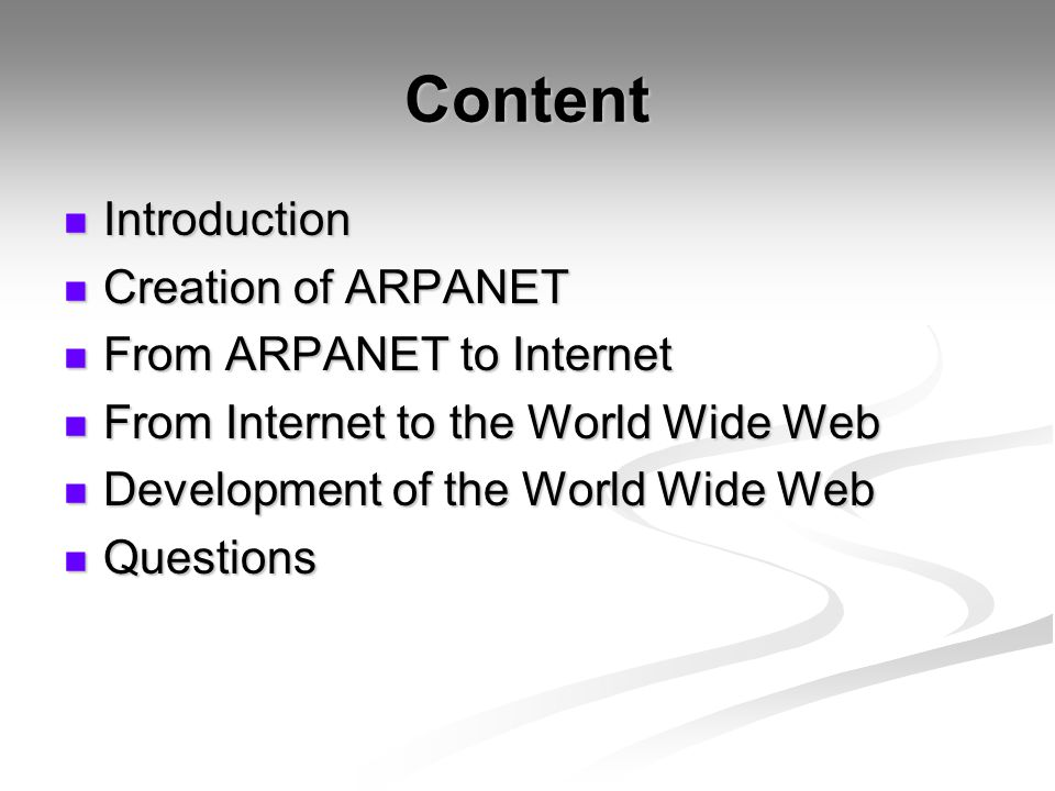an introduction to the world wide webs history Gr 4-8-history records the of the internet and the world wide web and the other books in the internet library series offer a very friendly introduction to.