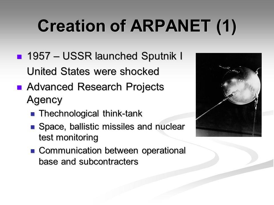 a history of arpanet An internet timeline highlighting some of the key events and technologies that helped shape the internet as we know it today.