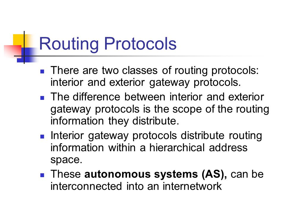 Routing Protocols Driverlayer Search Engine