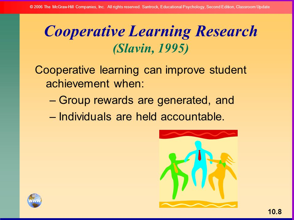 Cooperative Learning Research (Slavin, 1995)