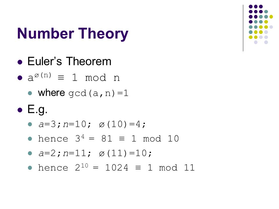 Cryptography number theory ppt download 16 number publicscrutiny Image collections