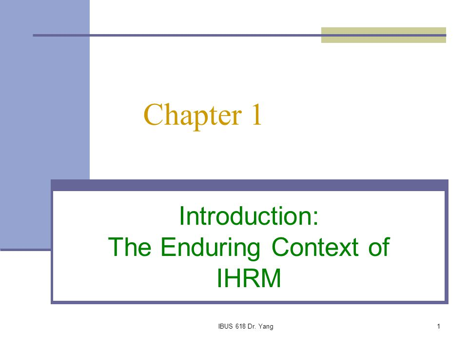 the importance of ihrm management essay Discover the importance of talent management the objectives of ihrm involve the management of the diverse human capital employed.