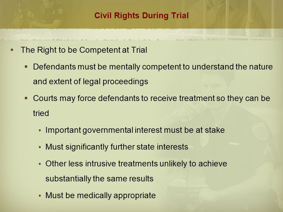 Civil Rights During Trial