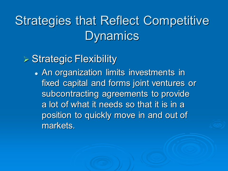 investing in competitive methods Therefore it is important to invest in human resources through training (lucas, 1988) in order to improve the competitive position of the firm, and because of the enhanced quality, innovation, continual increased productivity and in turn improved profitability that.