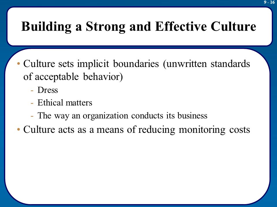 an analysis of the effective compliance program and workable ethics in organizational culture Ethical compliance helps companies to develop a work culture that implementing and maintaining an ethics compliance program advantages & disadvantages of.