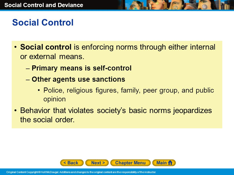 social control and behavior Informal social control, such as the anger depicted here, is used to control behavior that violates informal norms.