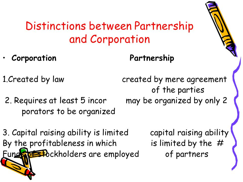 corporation and partnership law Peer review: the international encyclopaedia of laws (iel) is peer reviewed  under the  corporations and partnerships puts the information necessary for.
