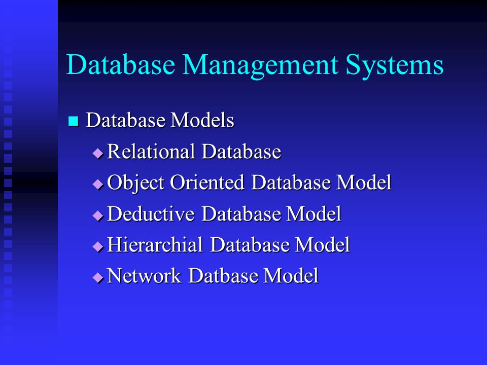 Object-Oriented Database Management System (OODBMS) Definition
