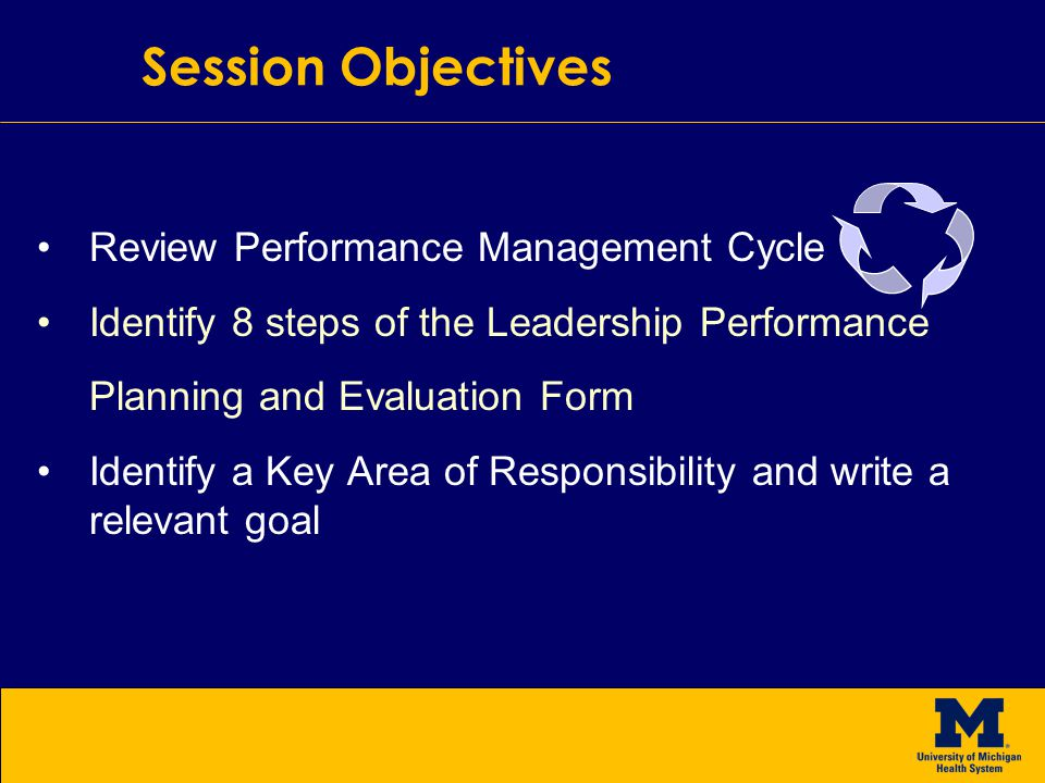 Leadership Performance Planning And Evaluation Form And Goal