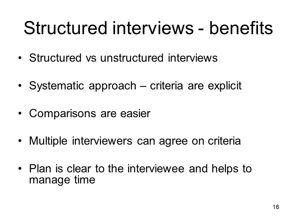Examine The Advantages Of Unstructured Interviews In Sociological Research Essay - Part 2