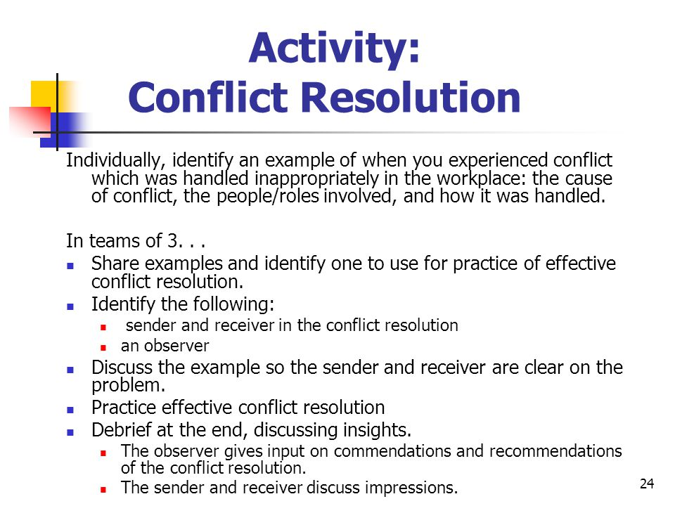 conflict identification and resolution Conflict identification and resolution1conflict identification and resolution in the organizationauthors nameinstitution namelocation of institutiondateconflict identification and resolution2abstractan organization is made up of individuals and different groups of people working togetherand therefore conflict is bound to happen from time to time.