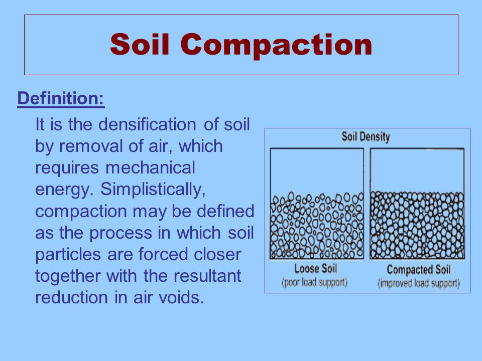 Ce 486 deep compaction name ali hamood al teeb id for Soil resources definition