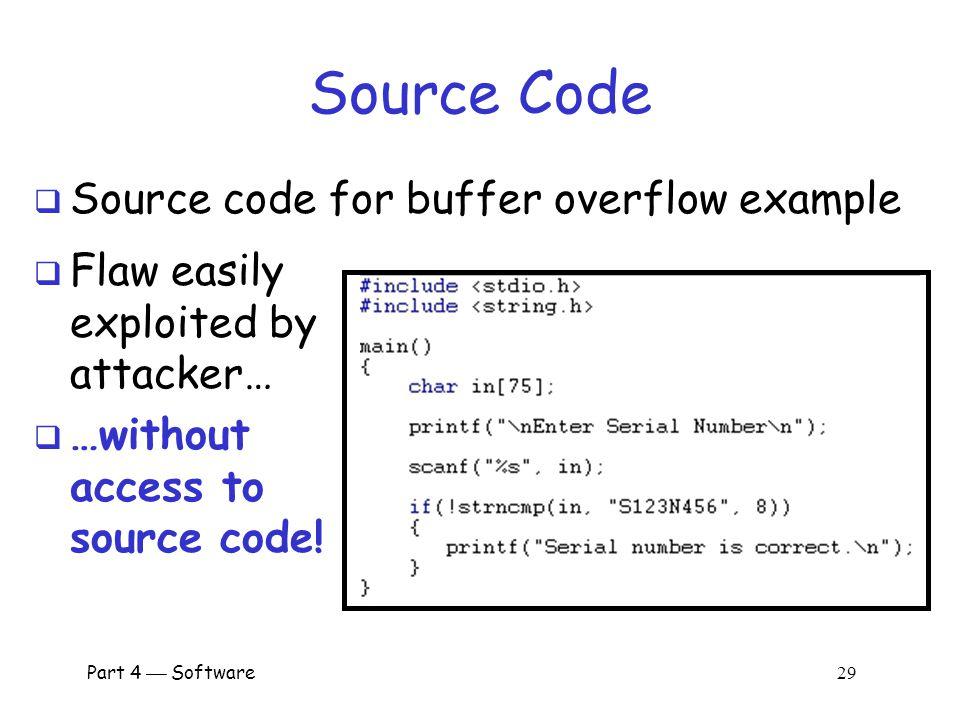 buffer overflow java code
