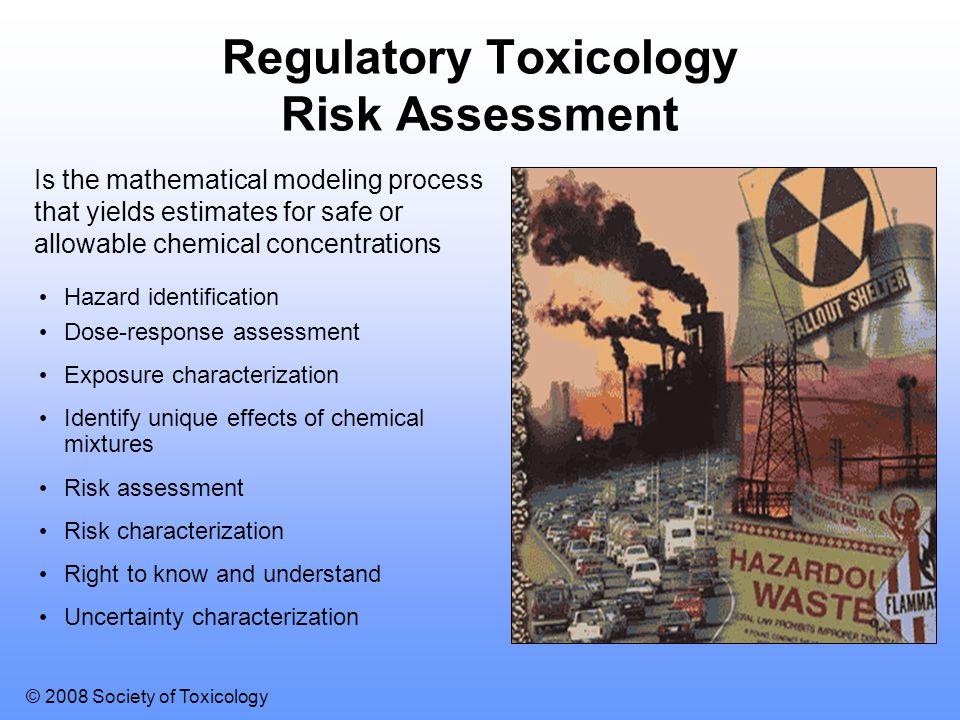 Regulatory Toxicology Risk Assessment