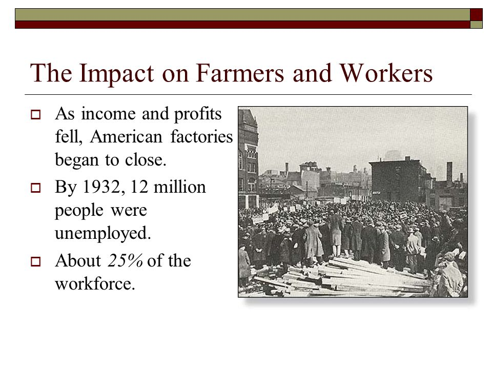 The Impact on Farmers and Workers