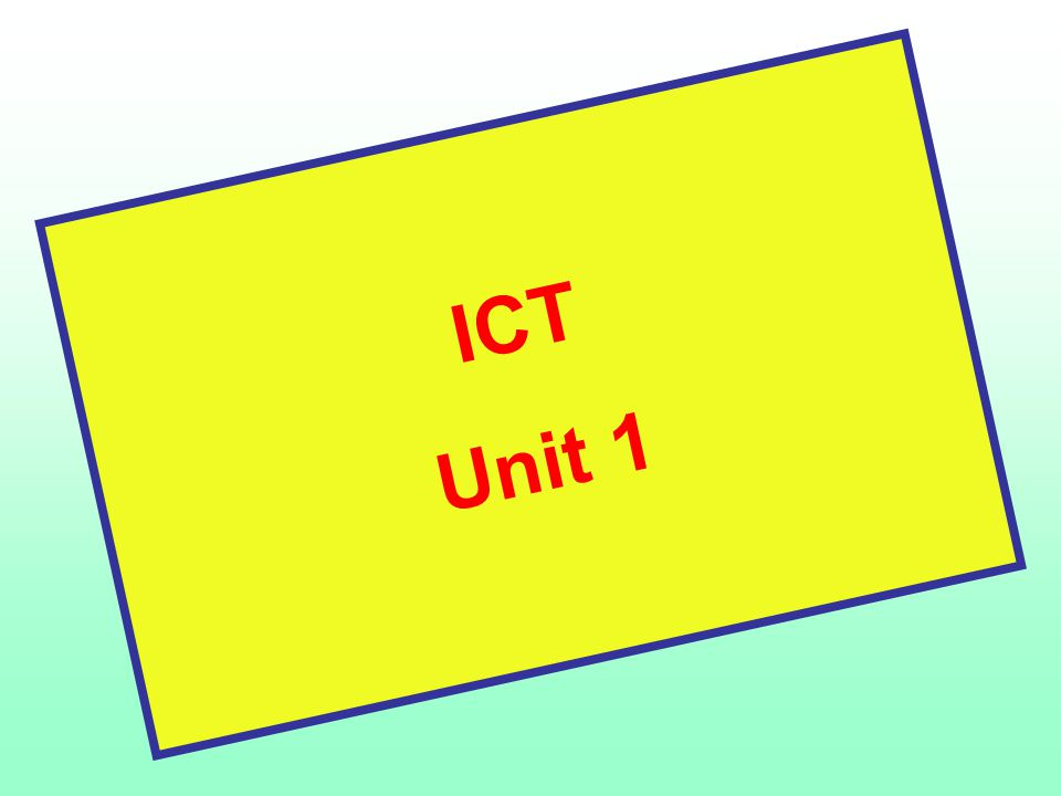 my own performance ict unit 2 Nvq3 diploma unit 2 personal development in health  to evaluate my own knowledge, performance and understanding i would ask myself a number of questions and.