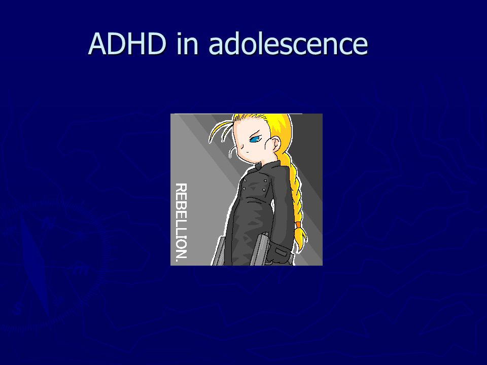 ADHD in adolescence