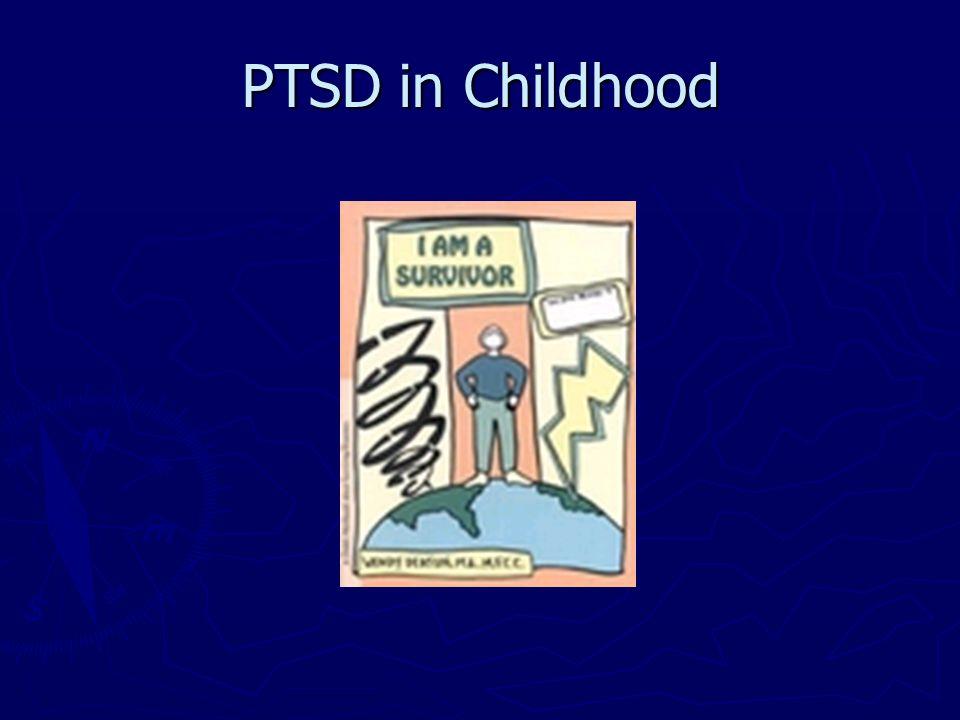 PTSD in Childhood