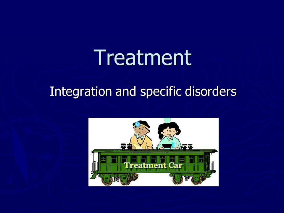 Integration and specific disorders