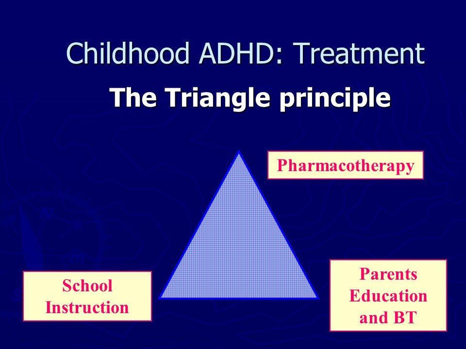 Childhood ADHD: Treatment