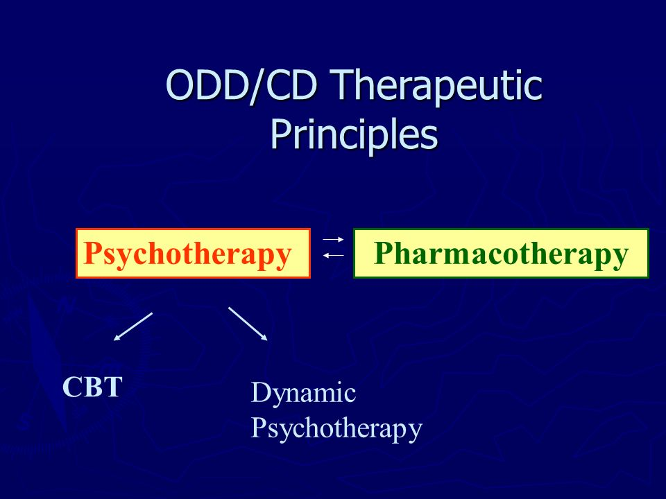 ODD/CD Therapeutic Principles