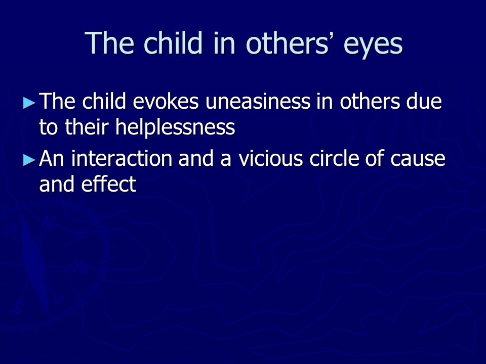 The child in others' eyes