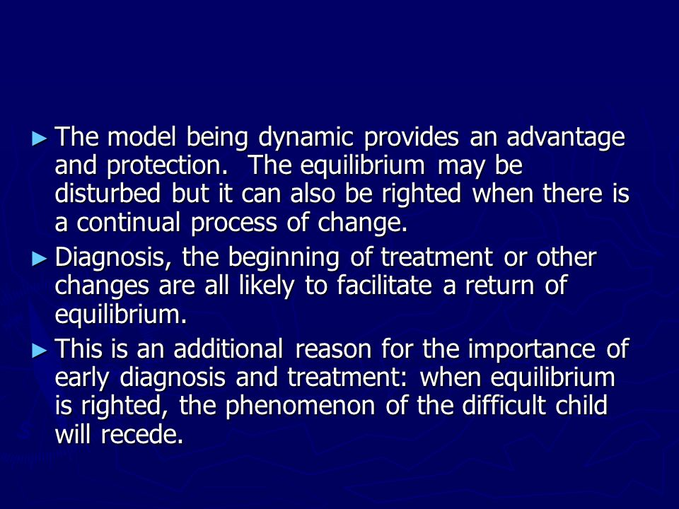The model being dynamic provides an advantage and protection