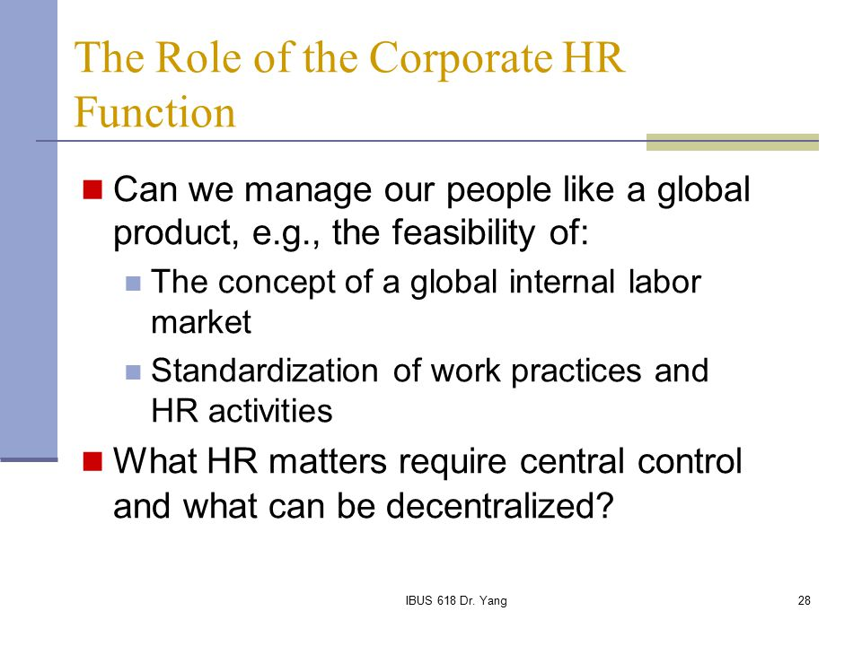 the concept of ihrm Brief notes on international human resource management concept of  international human resource management major functions of international  human.