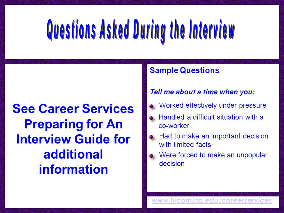questions to ask during an informational interview