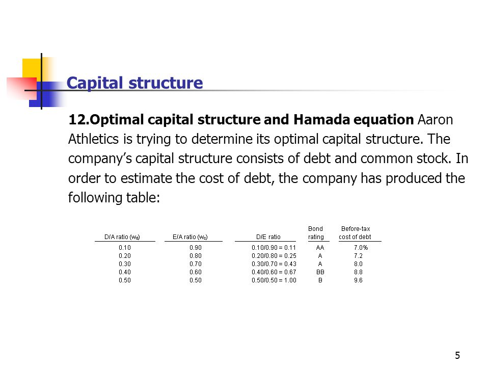 variable cost and capital structure 26 multinational cost of capital and capital structure  the more variable  multinational cost of capital and capital structure 27.