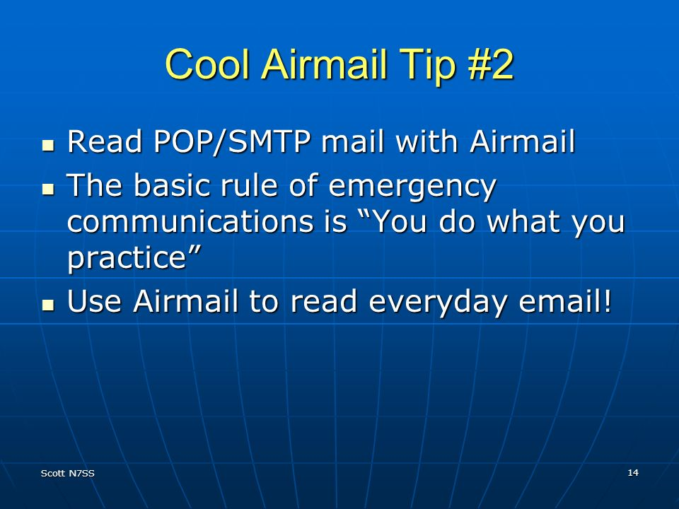 Cool Airmail Tip #2 Read POP/SMTP mail with Airmail