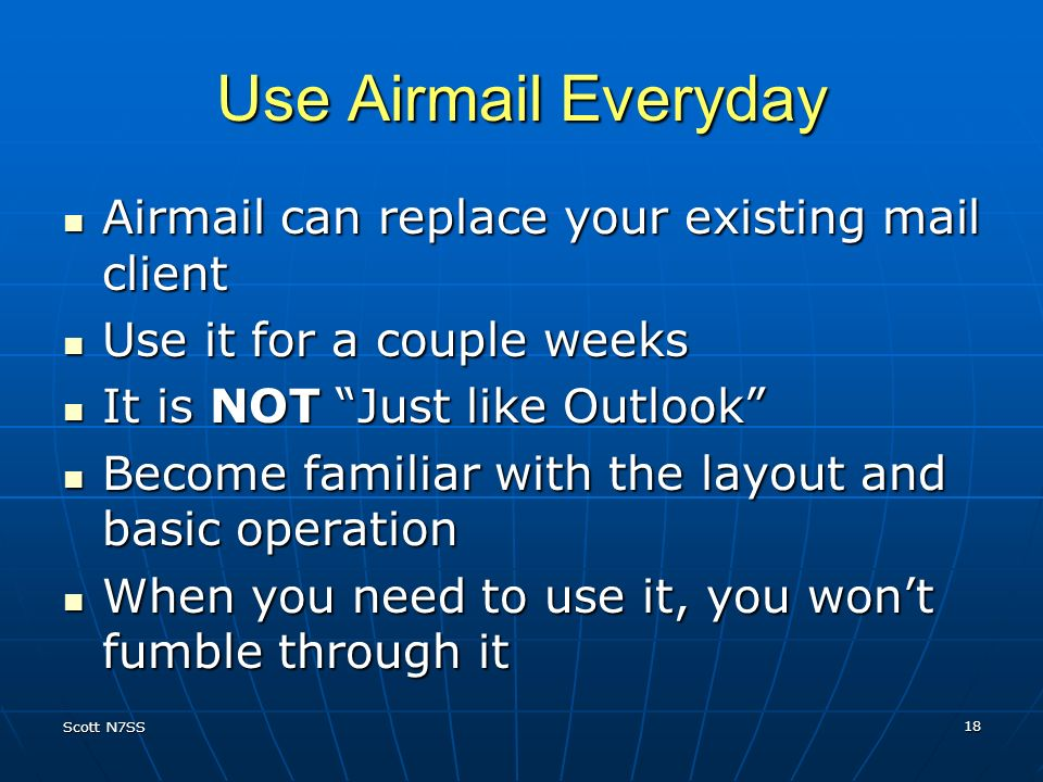 Use Airmail Everyday Airmail can replace your existing mail client