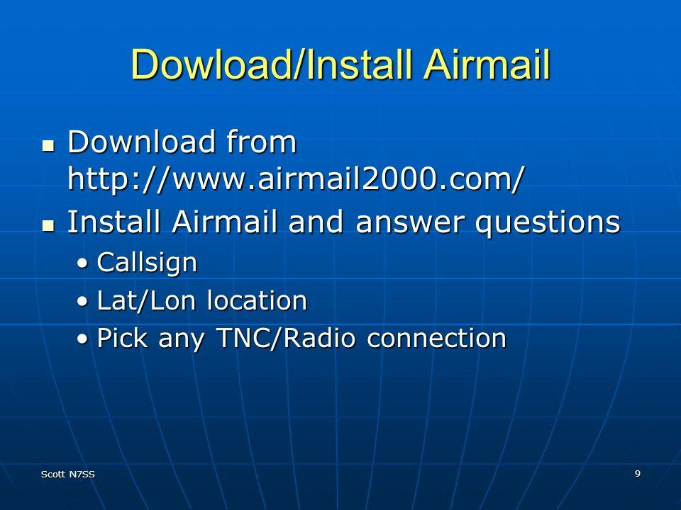 Dowload/Install Airmail