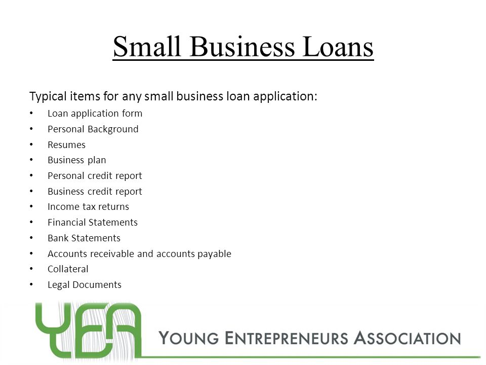 The future of america ppt video online download small business loans typical items for any small business loan application loan application form accmission Images