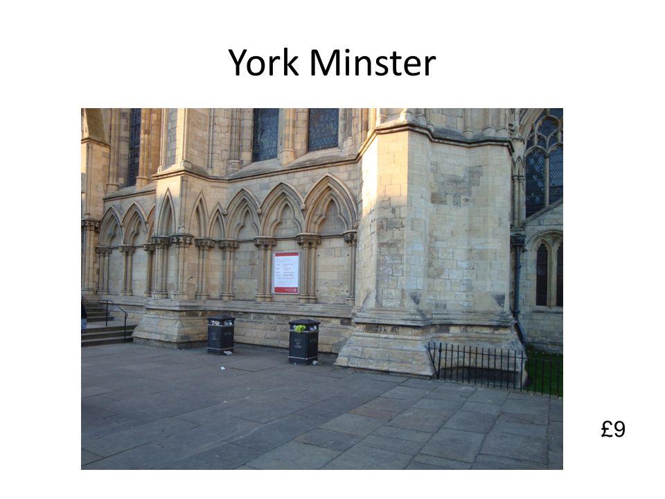 York Minster £9