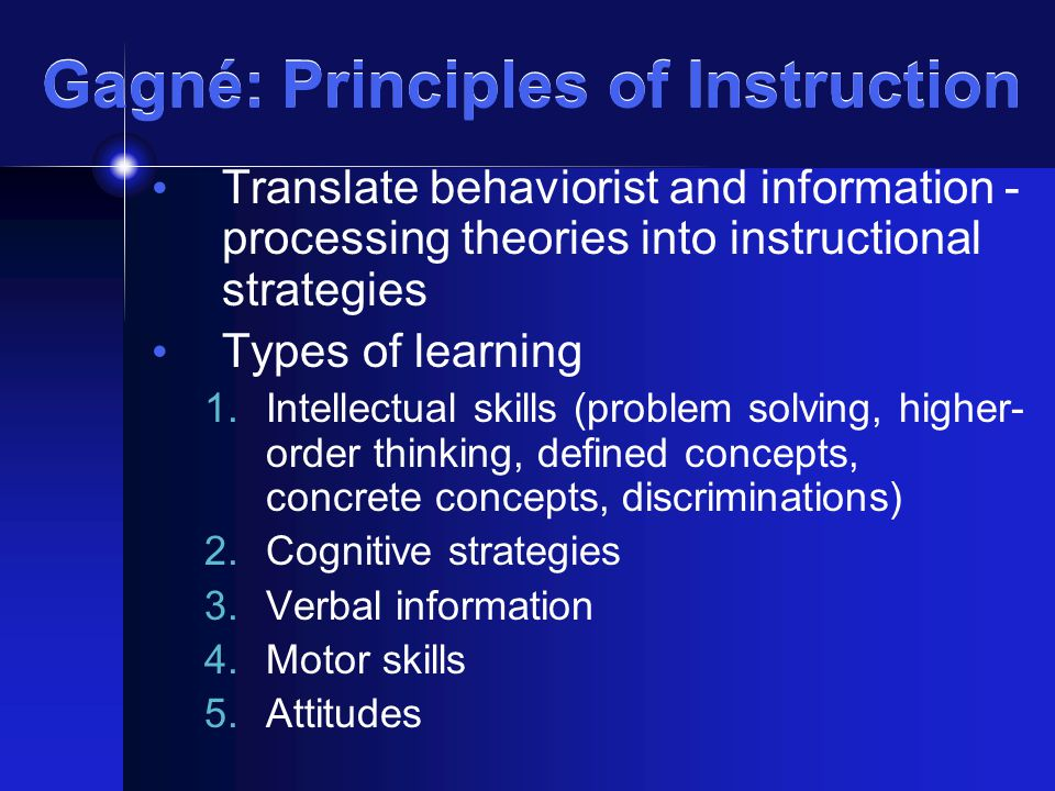 "understanding the principles and strategies of theory of education One overview of the theories and measurements of learning styles concluded, ""for those working within an educational setting wishing to utilize learning style to promote more effective learning, whether through individual or group profiling, design of instructional."