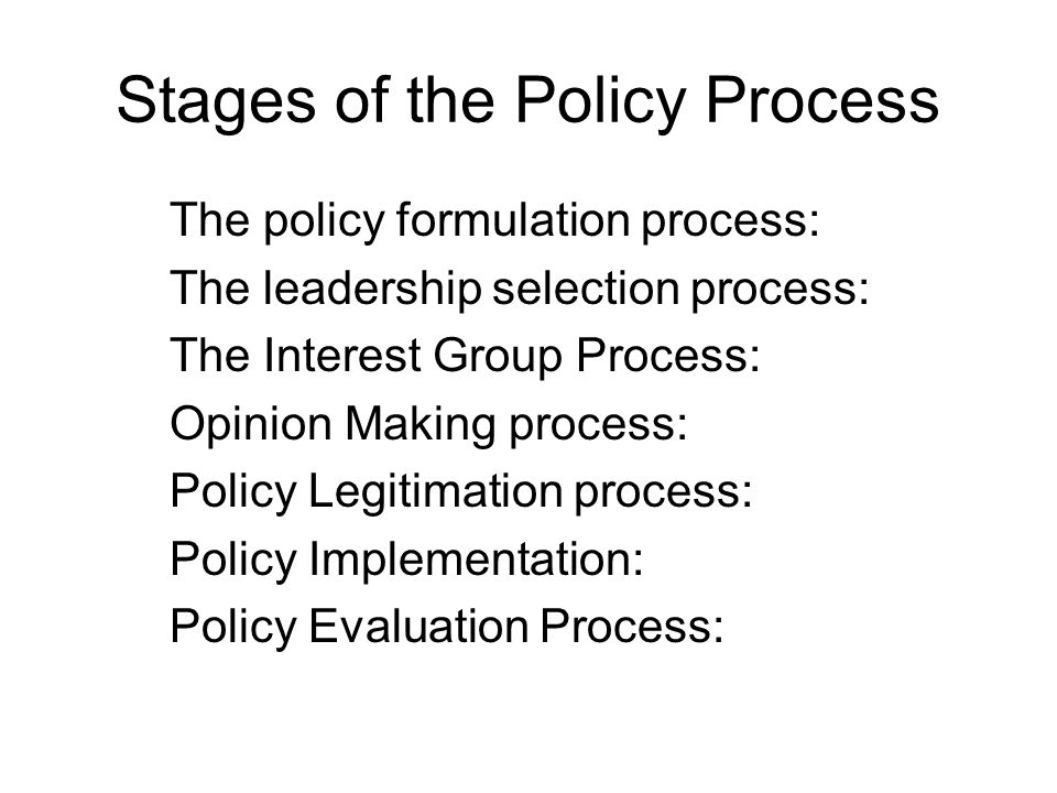 interest groups and policy making A theory of interest group proposals in agency rulemaking policy decision making key words: interest group interest groups and associated policy.