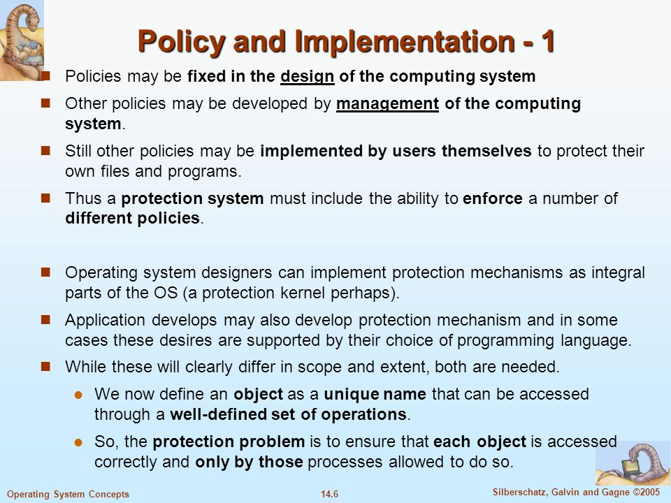Policies and procedures that organizations should implement to protect themselves
